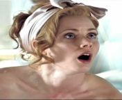 Amy Adams' reaction when you tell her that you can't hold back any longer and you're about to paint her face with rope after rope of hot jizz. from only rope xxx